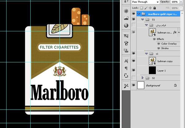 دانلود کارت ویزیت سیگار فروشی
