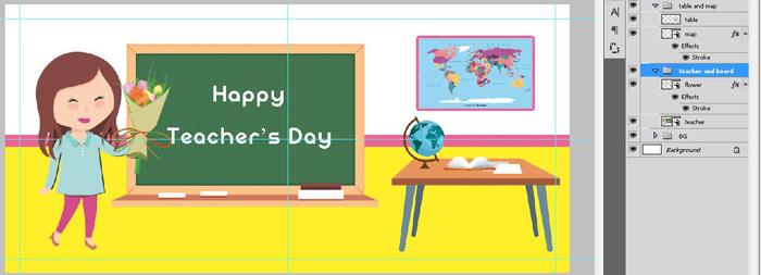 فایل فتوشاپ ماگ روز معلم